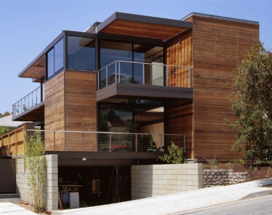 ray kappe designed pre fab home by livinghomes contemporist