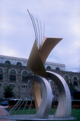 Firebird Sculpture