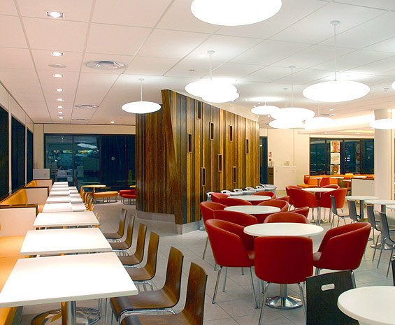 Interior Designs For Mcdonald S Uk By Shh