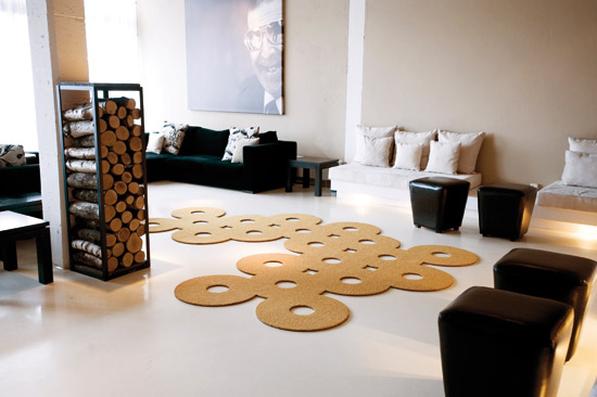Object Carpet edition silhouette rugs by object carpet contemporist