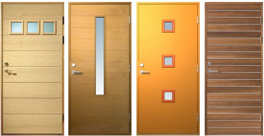 contemporary door designs from sweden contemporist