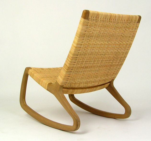 the sp210 rocking chair by shawn place contemporist