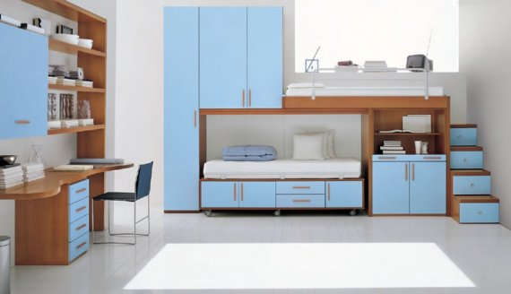 Contemporary Childrens Bedroom