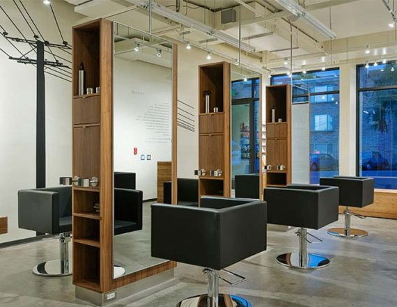The ten pachi hair salon in seattle washington contemporist for Design salon moderne
