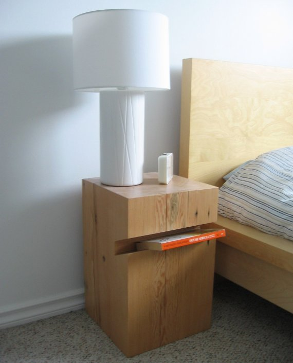 Flat Pack Birdhouse Bedside Table