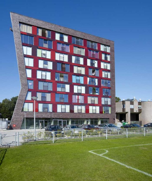 New Student Housing At The University Of Twente