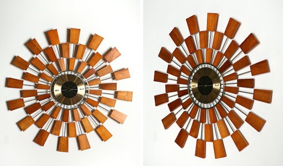 Sunburst Clock - contemporary clock
