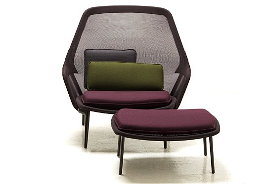 The Slow Chair & Ottoman