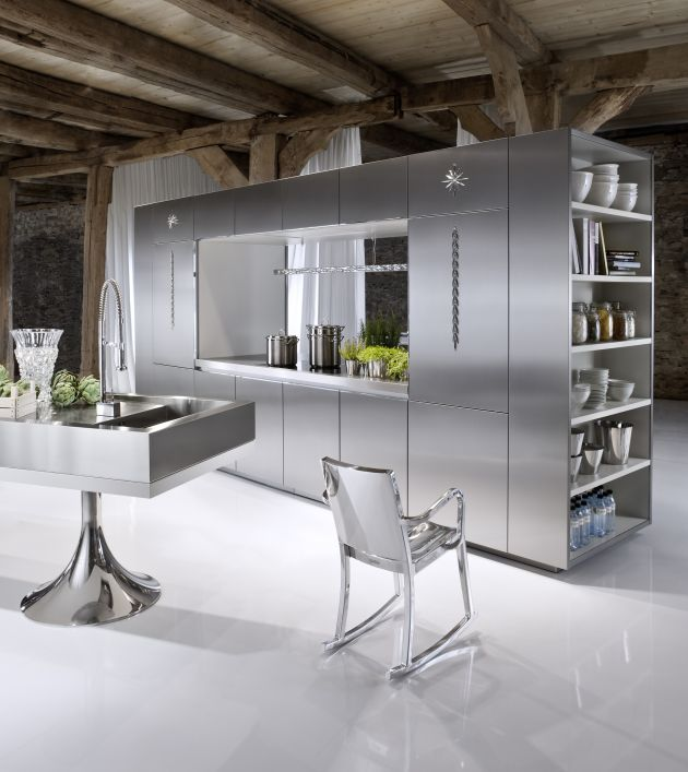 German Kitchen Designs: Warendorf Launches Four New Kitchens By Philippe Starck