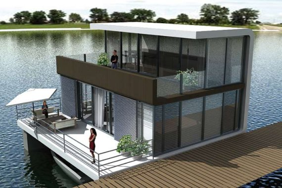 Modern Floating Home