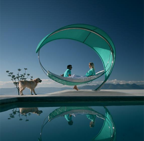 Royal Botania / New Collections :  hammock outdoor furniture designer