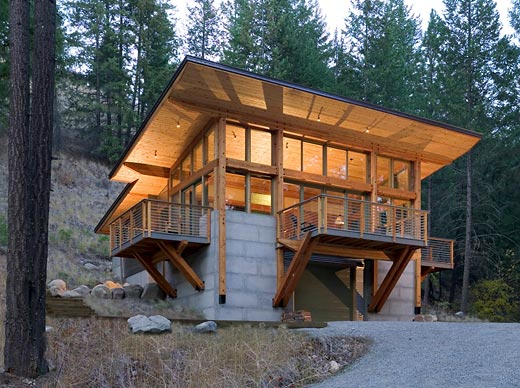 Wintergreen Cabin Contemporist