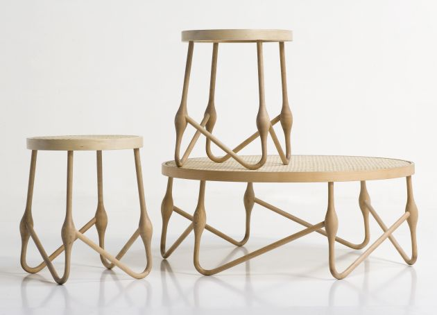 CuldeSac  a Spanish design agency  have created the Welding Wood furniture  series. Welding Wood by CuldeSac   CONTEMPORIST
