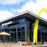 Modern McDonalds in North Huntingdon, Pennsylvania