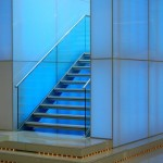 Stairs in the IBM Forum Centre in London