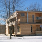 Midwest Rural House by PLY Architecture