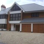 New House in Borehamwood, Hertfordshire, England