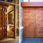 Contemporary door designs from Stilewood