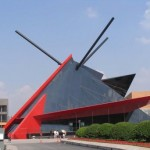 Exhibition Information Centre in Shanghai, China