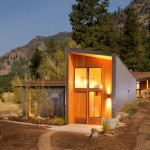 Miner's Refuge Cabin by Johnston Architects