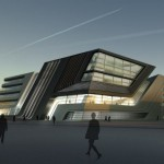 Zaha Hadid Wins Competition for University Library