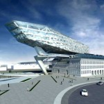 Antwerp Port Authority Headquarters by Zaha Hadid