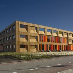 The 4th Gymnasium by HVDN Architects