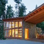 Bowen Island House by Sturgess Architecture