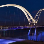Lighting for the Infinity Bridge by Speirs and Major Associates