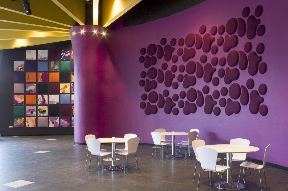 Decorative Sound Absorbing Wall Panels From Wobedo