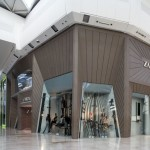 The Façade of the Zara Store at Westfield London