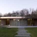 Rennes Métropole Crematorium by PLAN01 Architects