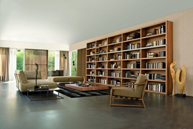 Bookcase Inspiration from Doimo Design | CONTEMPORIST
