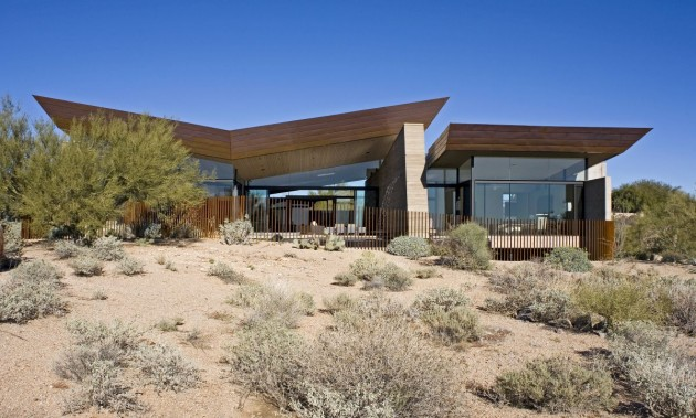 The Desert Wing House By Brent Kendle CONTEMPORIST