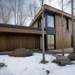Mont-Saint-Hilaire Residence by Blouin Tardif Architecture