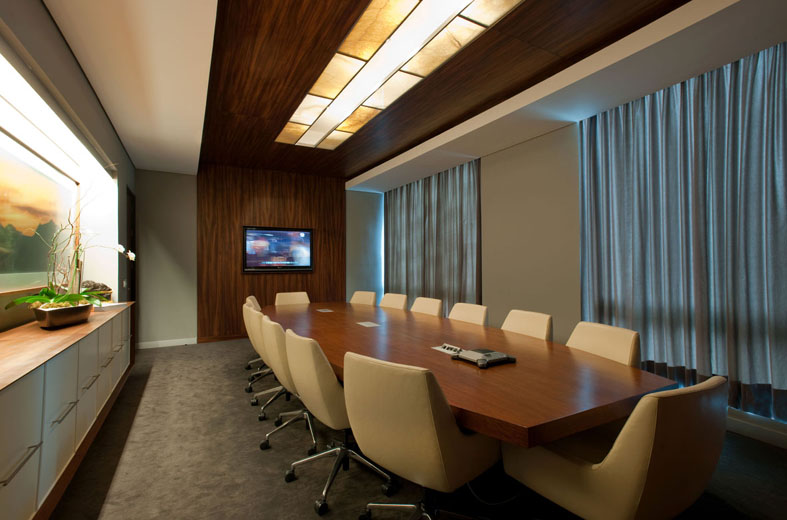 Office conference room decorating ideas 1000 Elegant The Acbc Office Interior By Pascal Arquitectos Stevenwardhaircom Acbc27051017 Contemporist