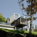House in the Laurentian Mountains by Saucier+Perrotte Architects