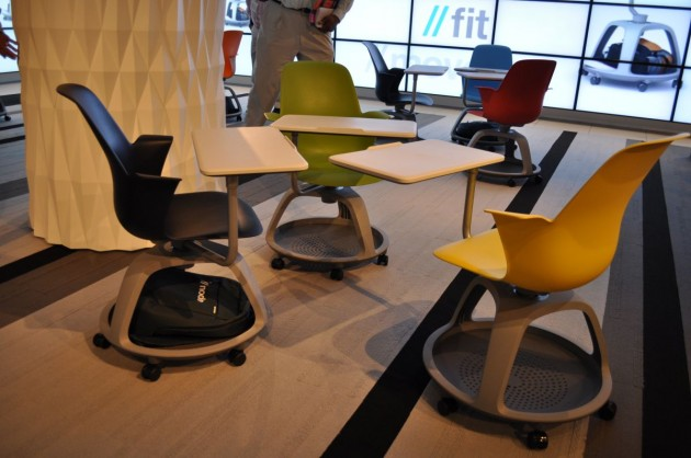 At The 2010 Neocon Show In Chicago Furniture Manufacturer Steelcase Introduced A New Clroom Seating Product Called Node
