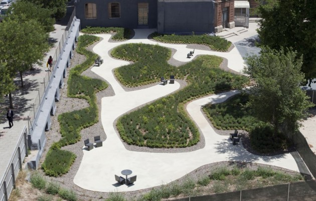 ... Garden For A Nursing Home In Madrid. . Awesome Ideas