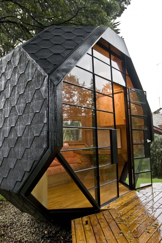 Colombian Architect Manuel Villa Designed The U201cPolyhedron Habitableu201d As A  Relaxing Space In The Back Yard Of A Suburban Family House In Bogota,  Colombia. Nice Ideas