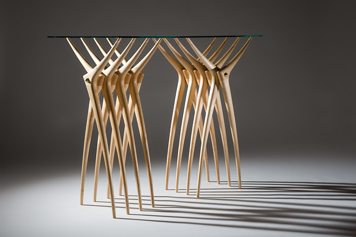 The Ardú Console Table by Martin Gallagher