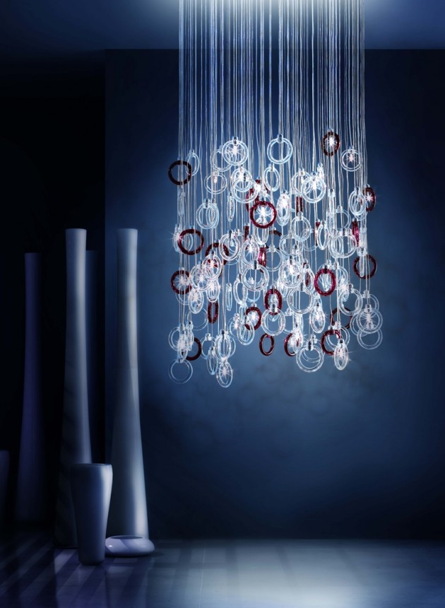 The Ginger Chandelier From Micron Lighting Contemporist