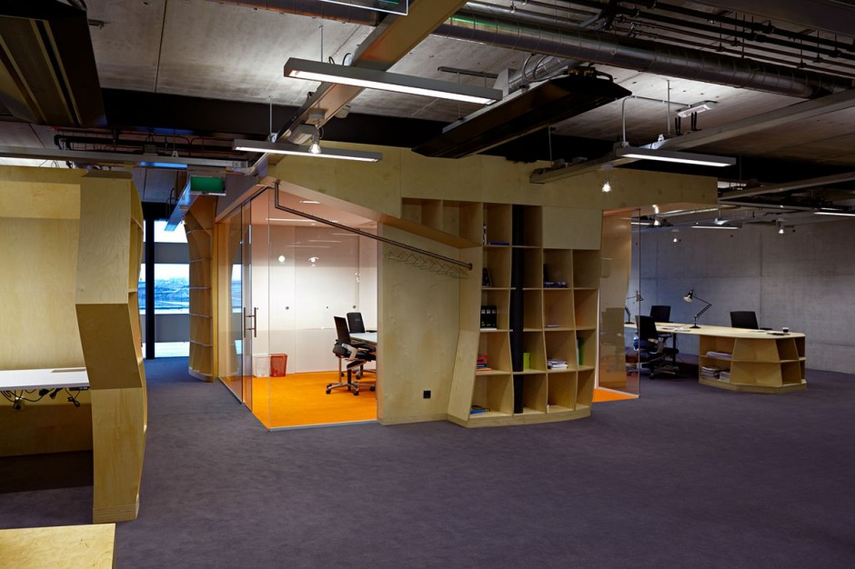 Unique office designs art and architecture