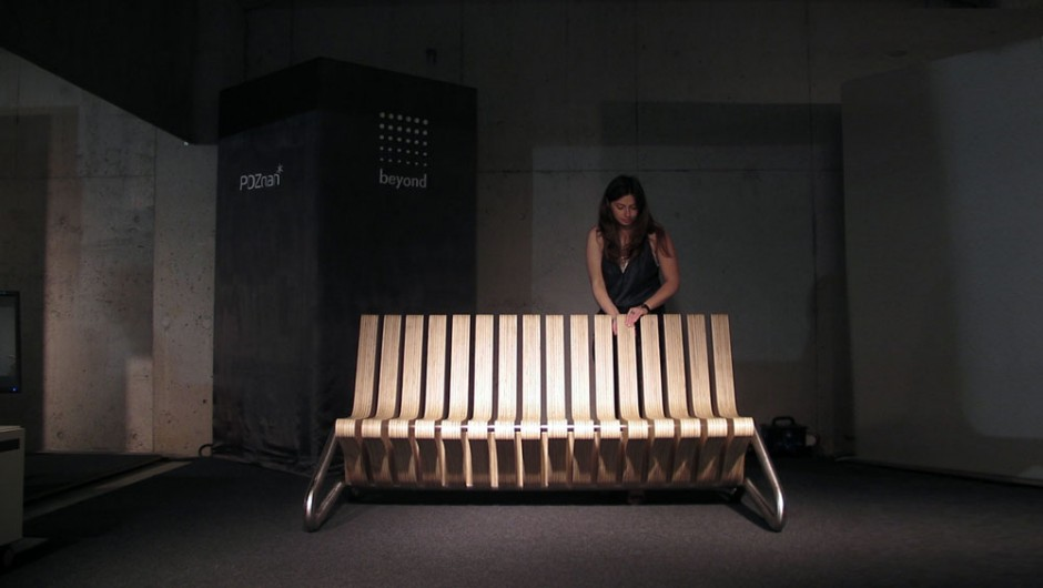 Coffee Bench by BEYOND Studio