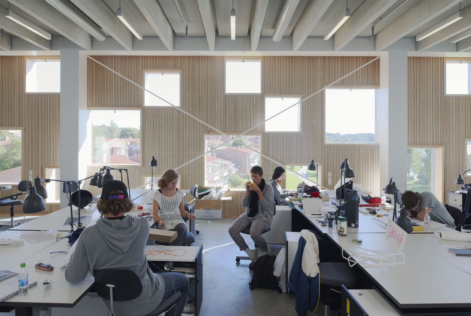Henning larsen architects have completed the ume school for The interior design institute