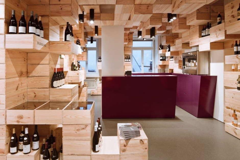 The Albert Reichmuth Wine Store by OOS