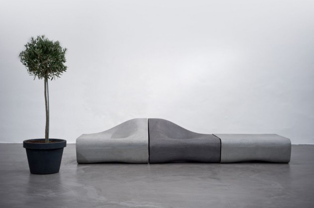Austrian Designer Rainer Mutsch Has Created A Modular Outdoor Furniture  Collection Called Dune For The Austrian Concrete Products Manufacturer  Eternit.