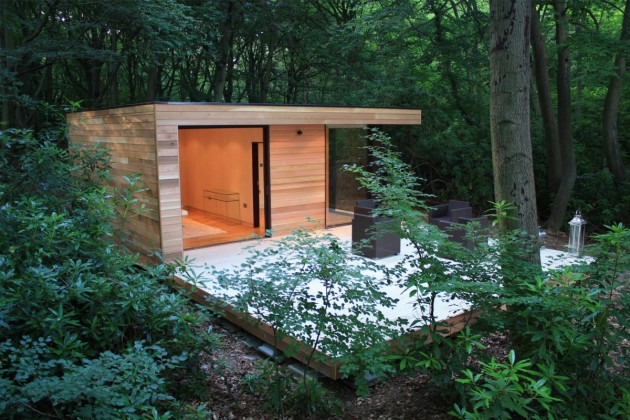 Exellent Contemporary Garden Sheds Uk Tokyo Shed Wooden F In Ideas