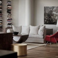 Penthouse In Downtown Montreal By Rene Desjardins Contemporist - Downtown-montreal-penthouse-by-rene-desjardins