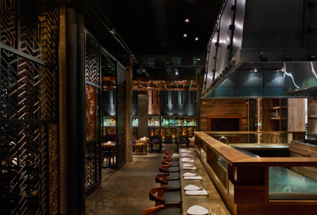 Ame restaurant by munge leung contemporist